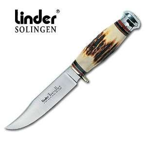 Linder Traveler 2 Stag Handle Knife