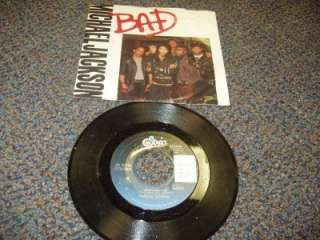 micheal jackson bad 45 record from epic great shape