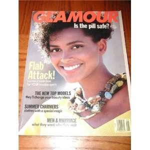 Glamour Magazine May 1989 Back Issue Louise Vyent Cover Books