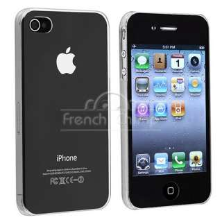 5mm Ultra Thin Clear Crystal Case for iPhone 4 4G 4S 16/ 32/ 64GB