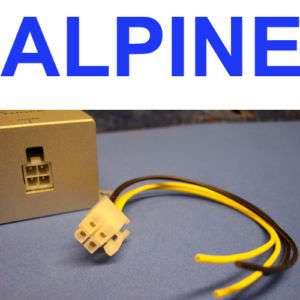 ALPINE 4 PIN POWER PLUG WIRE HARNESS 300BT 350BT 400BT USA SELLER USA