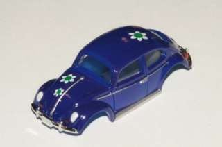 DASH MOTORSPORTS TJET VW VOLKSWAGEN BEETLE BUG FLOWERS BLUE BODY ONLY