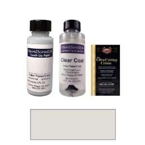 2 Oz. Light Tarnished Silver Metallic Paint Bottle Kit for
