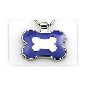 Pet ID Tag   Bone Shape   Custom engraved cat and dog ID tags