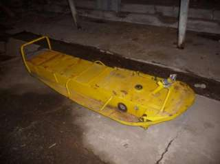 Vintage Ski Doo Olympic Bubble Nose Frame Chassis Great Shape Very