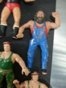 WWF WWE LJN Vintage Wrestling Figures Lot of 12 Figures MACHO MAN koko