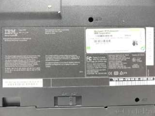 IBM Thinkpad G40 14 Laptop  2.8GHz Pentium 4  512mb PC 2700  CD