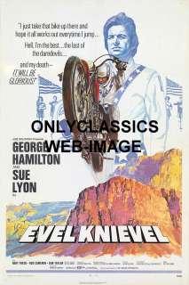 1971 HARLEY DAVIDSON XR750 MOTORCYCLE JUMP MOVIE POSTER