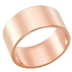 Rose Gold Heavy Wedding Band Ring on Sale FSTF10R, Finger Size 12.5