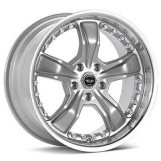 American Racing Razor (Silver w/Machined Lip)
