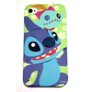Disney Cartoon STITCH Silicone Cover Case for Apple iPhone 4 4S