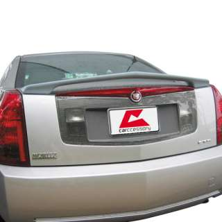 PAINTED Custom Style Cadillac CTS 2003 07 rear spoiler