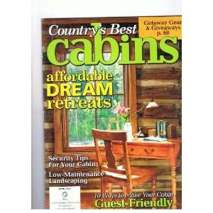 Security Tips for Your Cabin, Low Maintenance Landscaping cbc Books