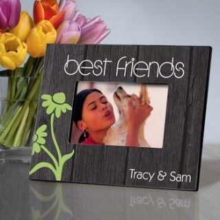 BEST FRIENDS PICTURE PHOTO FRAME Personalized 4x6 Wood