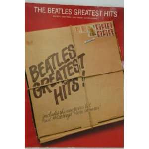 THE BEATLES GREATEST HITS (Easy Piano / Organ / Guitar