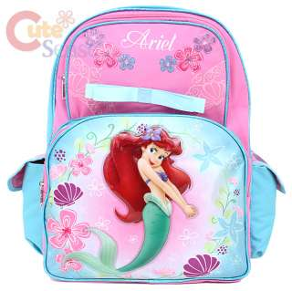 Disney Little Mermaid School Backpack Large Bag 1