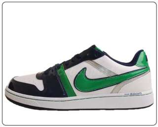 Nike Zoom Double Double SL White Green Navy Silver Mens Casual Shoes