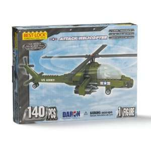U.S. Army Helicopter Construction Toy