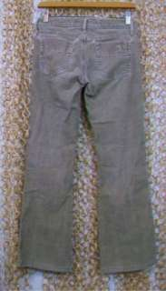 JOES Joes Jeans Womens Tan Brown Boot Cut CORDUROY Pants sz 25