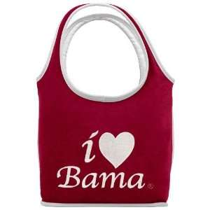 Alabama Crimson Tide Terry Cloth Heart Handbag Sports