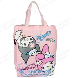 Hello Kitty Dual use package Shopping Clutch Shoulder Bag Handbag Tote