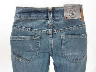 NWT CONVERSE ONE STAR Blue Denim Jeans Pants Sz 26