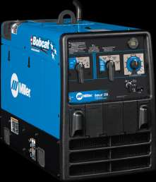 MILLER BOBCAT 250 STICK MIG FLUX CORED TIG WELDER & 11,000 WATT