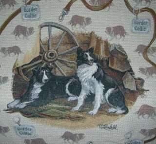 New Border Collie Afghan Throw Blanket Gift Herding Dog Puppy Photo