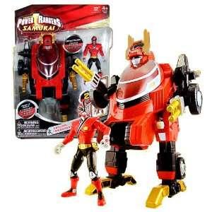 Bandai Year 2011 Power Rangers Samurai Series 9 Inch Tall
