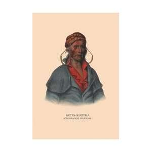 Payta Kootha (A Shawanoe Warrior) 20x30 poster:  Home