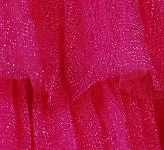 Betsey Johnson Evening Sweet Caroline Dress 6 Hot Pink
