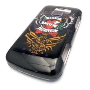 LG Optimus Q L55c True Till Death Tattoo Design Hard Case