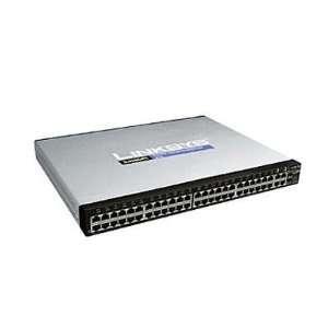 by Cisco SLM248G4PS 48 port 10/100 + 4 port Gigabit Smart Switch   PoE