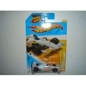 Hot Wheels New Models 2011 Indycar Oval Course Race Car White #42/247