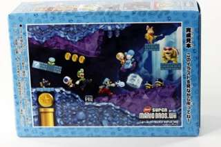 description super mario bros wii puzzle fill set 4 box material paper