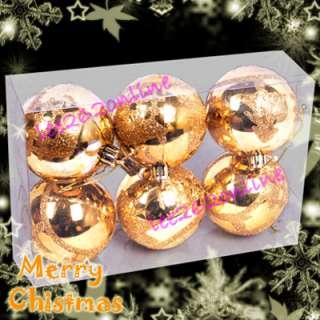 Big Balls Xmas Christmas Tree Decorations Ornament Gold