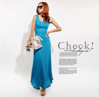Sexy Long Cocktail Summer Evening Party Backless Beach Maxi Dress QZ25