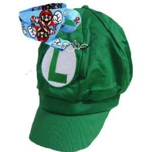 New Super Mario Bros Green Hat Free Lanyard Toys & Games