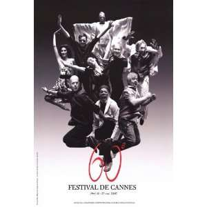 Cannes Film Festival Movie Poster (27 x 40 Inches   69cm x