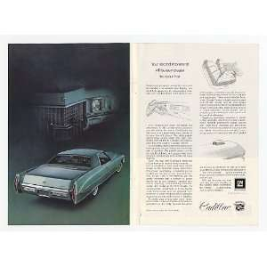 Cadillac Coupe deVille Double Page Print Ad (16726) Home & Kitchen