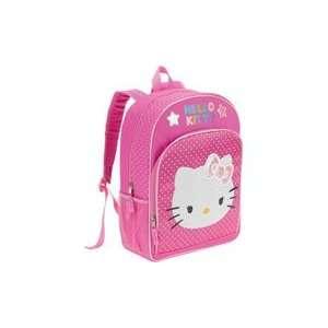 School Supplies Hello Kitty Polka Dot Bow Backpack
