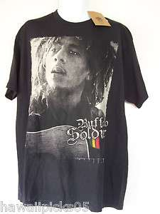 NEW Bob Marley Buffalo Soldier Mens T Shirt Tee Size XL in Black NWT