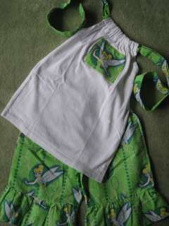 Size 5 Tinkerbell Halter and Capri Pants by Lil Bug Clothing