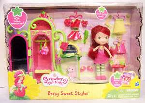 Strawberry Shortcake Berry Sweet Styles Playset Set w/ Figure Doll