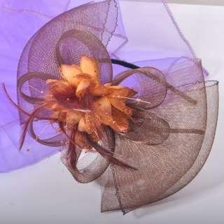 New Handmade Headband Feather Fascinator Alice Band Hair Accessories