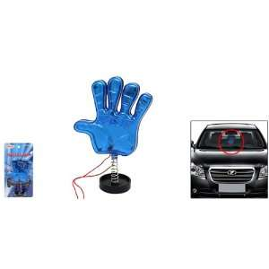 Blue Palm Stop Shake Car & Truck Led Night Light Automotive