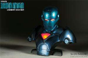 IRON MAN STEALTH MARVEL SIDESHOW LEGENDARY SCALE BUST