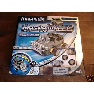 Magna Wheels Jeep Grand Cherokee Model Kit (28441): Toys & Games