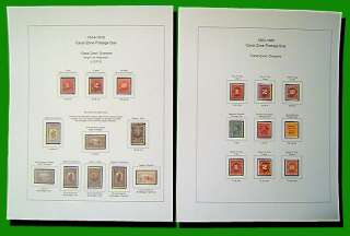 Canal Zone DELUXE Stamp Album Pages Full Color (US POSSESSIONS)
