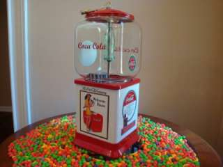 *COCA COLA* Gumball & Candy Vending Machine Coin Op Signs